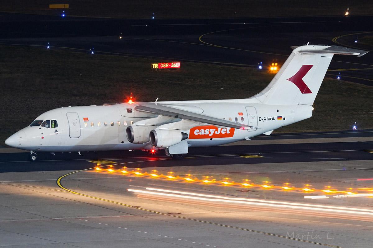 easyJet BAe 146-200 D-AMGL