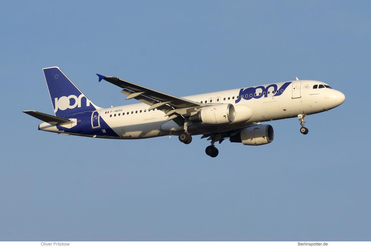 Joon erhöht Flugfrequenz nach Paris