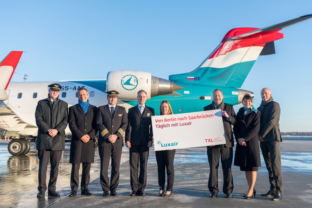 Luxair: Holpriger Start ab Saarbrücken