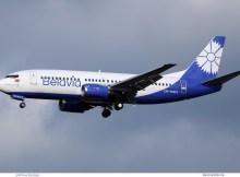 Belavia, Boeing 737-300 EW-366PA (SXF 2.2. 2018)