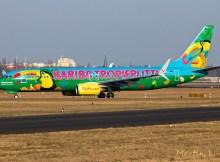TUIfly, Boeing 737-800(WL) D-ATUJ, Haribo Tropifrutti-Bemalung (TXL 28.2. 2018)