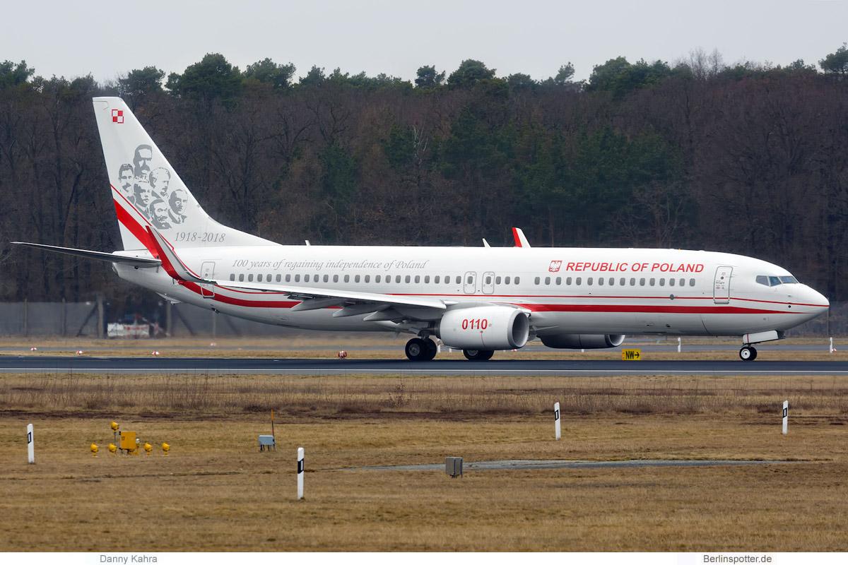 Polen Boeing 737-800(WL) 0110