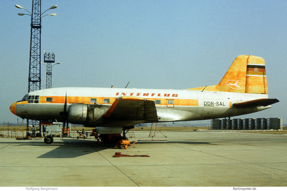 Interflug Ilyushin Il-14P DDR-SAL