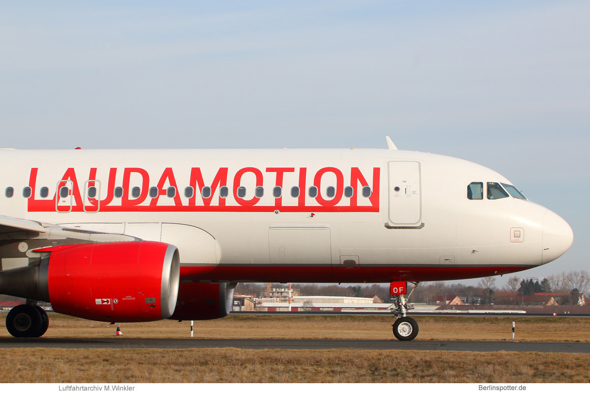 Tegel wird Laudamotion-Basis