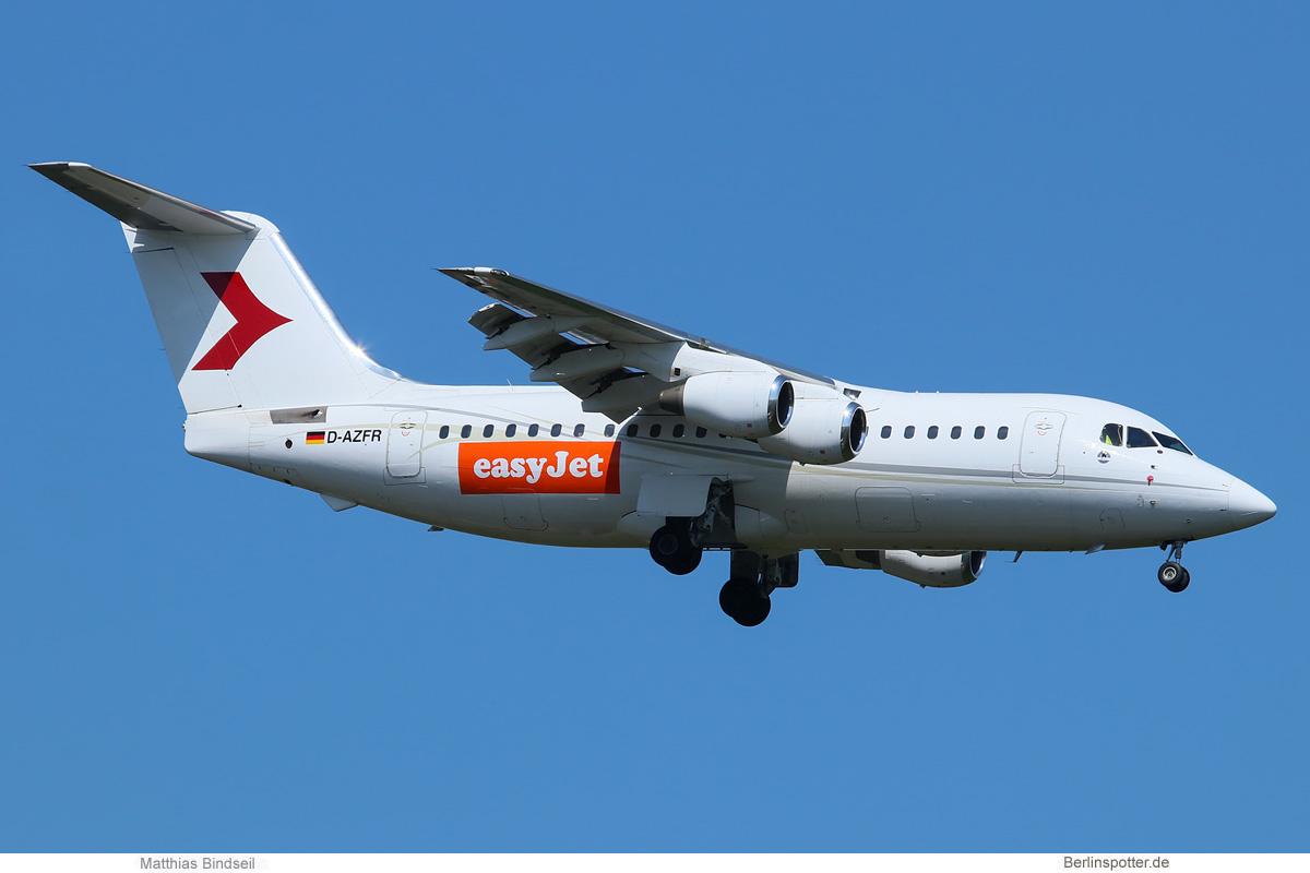 easyJet BAe-146-200 D-AZFR