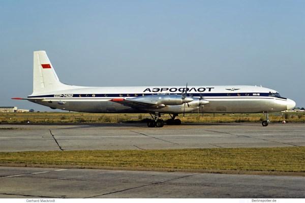 Aeroflot, Ilyushin Il-18 CCCP-74262 (SXF 07/1975)