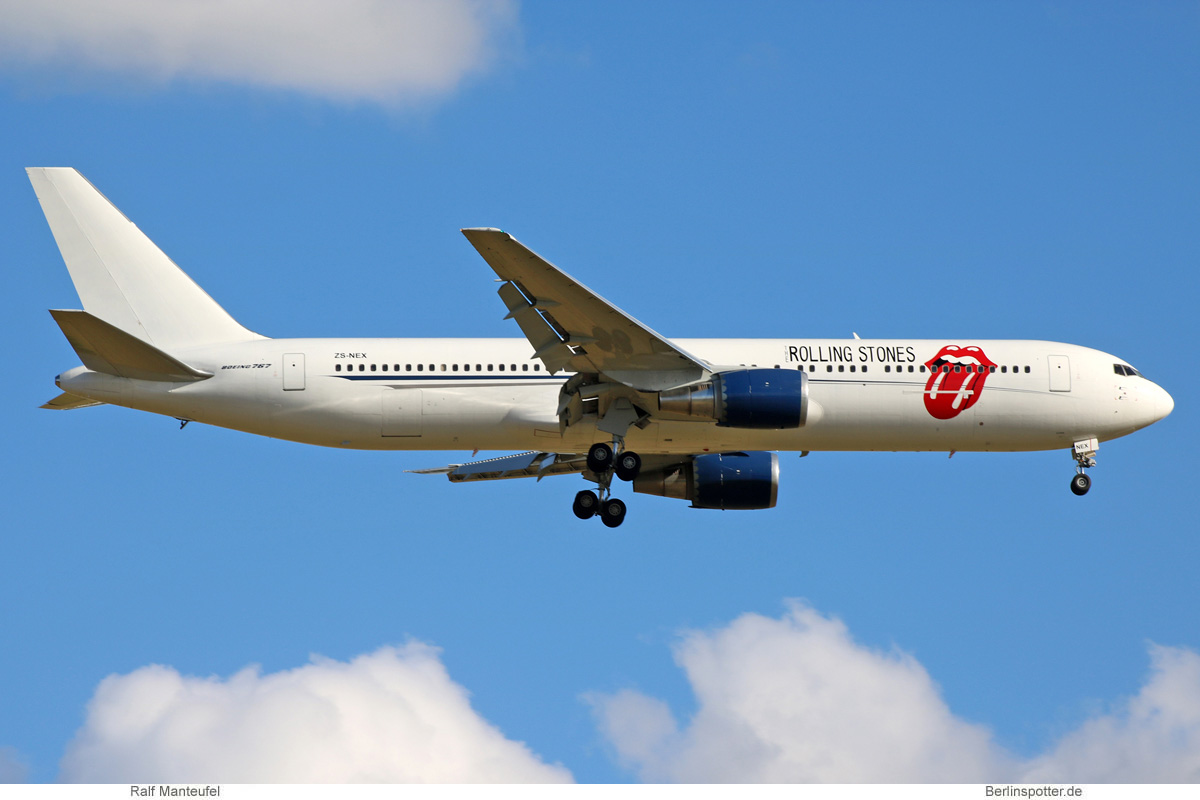 Aeronexus Corp. Boeing 767-300ER ZS-NEX