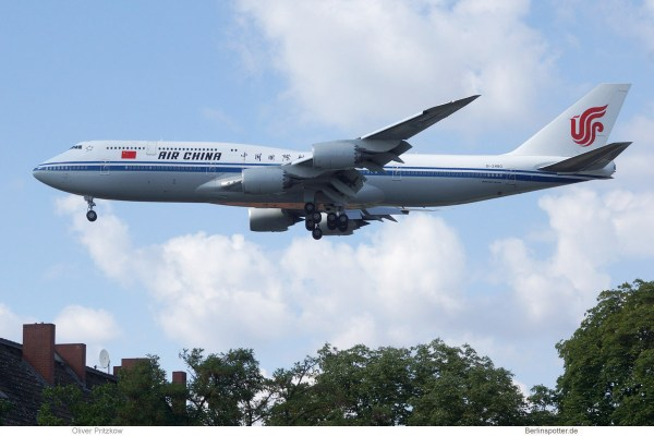 Air China, Boeing 747-8 B-2480 (TXL 8.7. 2018)