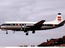 BEA British European Airways, Vickers Viscount 806 G-APIM (THF 08/1960)