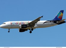 Small Planet Airlines Airbus A320-200 LY-ONL (SXF 3.7. 2018)