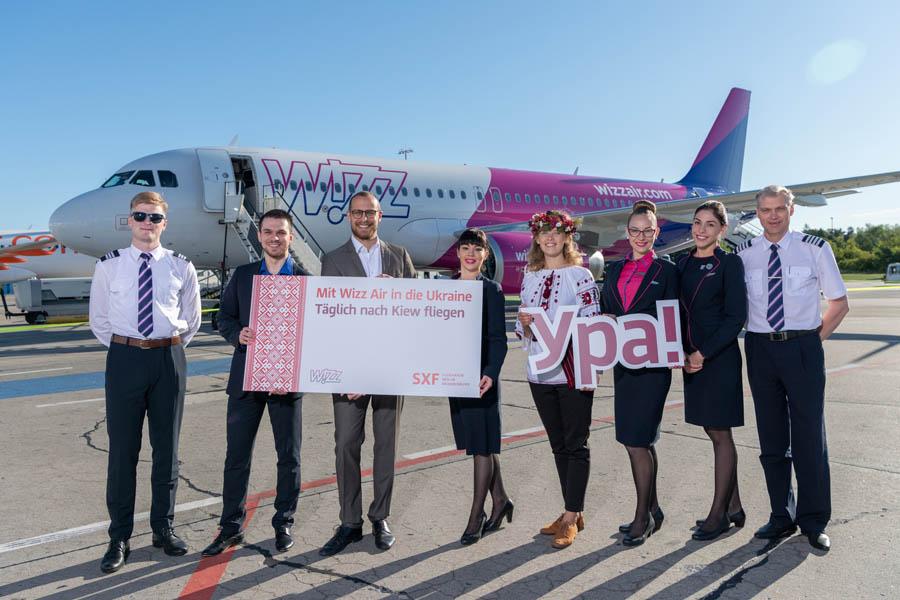 Wizz Air nimmt Kiew - Berlin auf