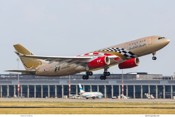 Gulf Air, Airbus A330-200 A9C-KB, Bahrain F1 Grand Prix cs. (SXF 1.8. 2018)