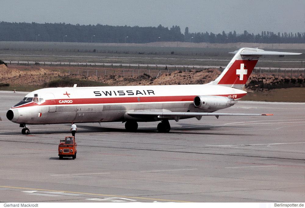 Swissair Cargo McDonnell-Douglas DC-9-33F HB-IFW