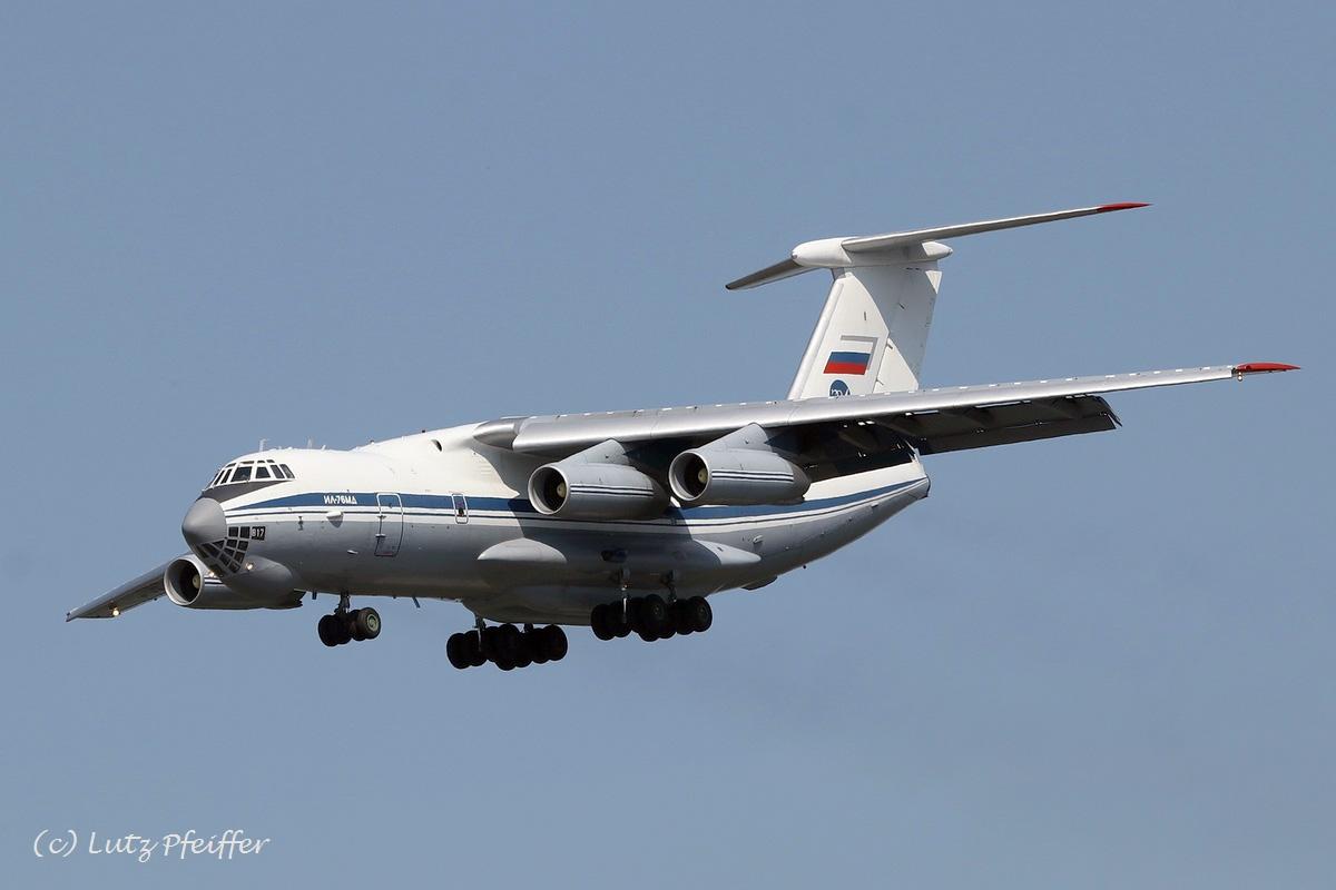Russland AF Ilyushin Il-76MD RA-78817