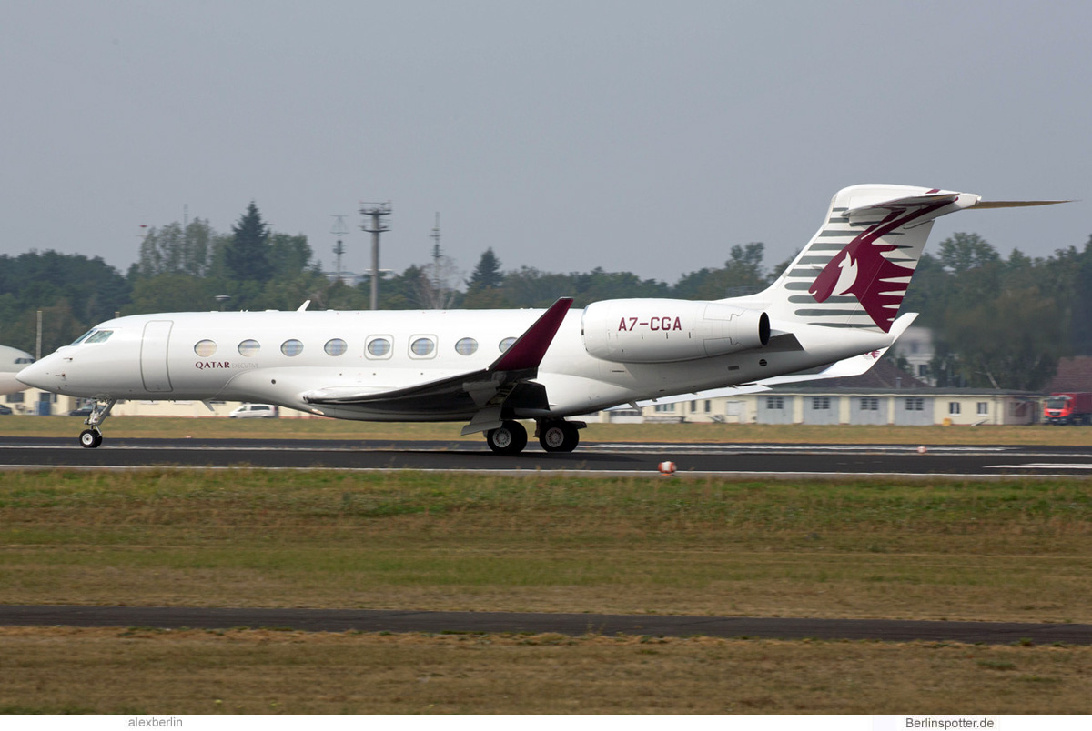 Qatar Executive Gulfstream G650 A7-CGA