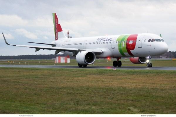 TAP Portugal, Airbus A321neo CS-TJL (TXL 7.12.2019)