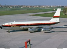 Laker Airways, opf International Caribbean Airways, Boeing 707-138B G-AVZZ (TXL 19.4.1976)
