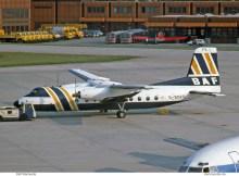 British Air Ferries, Handley-Page HPR.7 Herald 203 G-BDFE (TXL 05/1977)