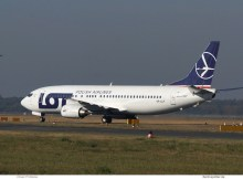 LOT Polish Airlines, Boeing 737-400 SP-LLF (TXL 13.10. 2018)