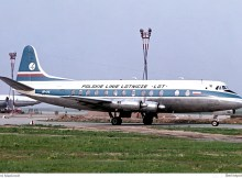 LOT Polish Airlines, Vickers 804 Viscount (SXF 1964)