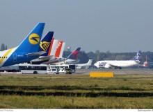 Vorfeld am Flughafen Tegel