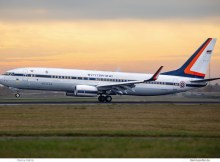 Thai Gvmt. Boeing 737-800(BBJ2) HS-MVS (SXF 12.11.2018)