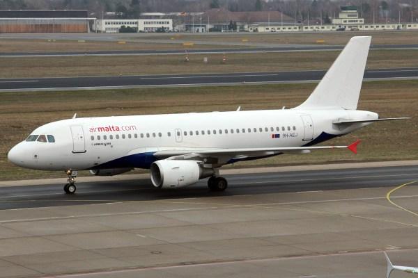 Air Malta, Airbus A319-100 9H-AEJ (TXL 19.12.2018)