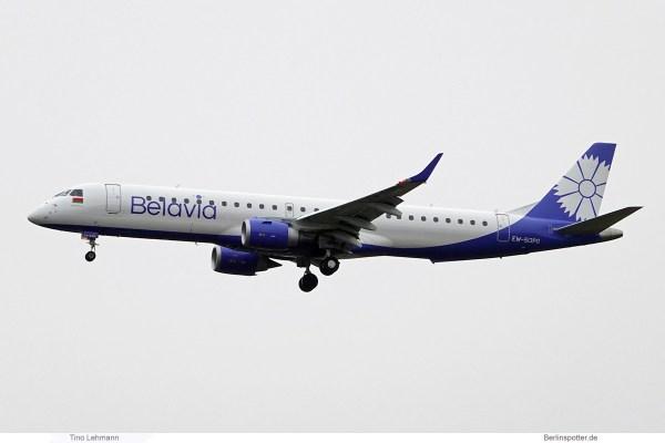 Belavia, Embraer 195 EW-513PO (SXF 21.12. 2018)