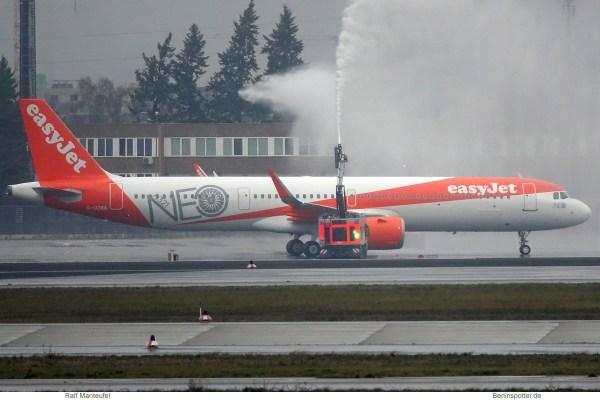 easyJet, Airbus A321neo G-UZMA (SXF 15.1.2019)