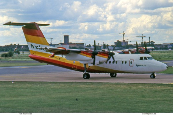Tyrolean Airways, DeHavilland DHC-7-102 OE-LLS (THF 08/1993)