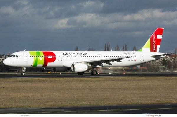 TAP Air Portugal, Airbus A321-200 CS-TJG (TXL 9.2.2019)