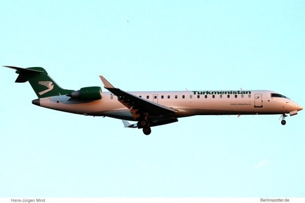 Turkmenistan Airlines, Bombardier Challenger 870 EZ-B024 (TXL 27.5.2013