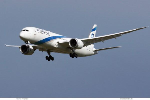 El Al Israel Airlines, Boeing 787-9 Dreamliner 4X-EDI (SXF 7.3.2019)