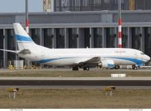 Cargo Air, Boeing 737-400(SF) LZ-CGV (SXF/BER 5.3.2019)