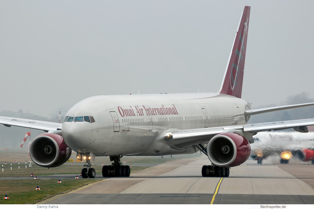 Omni Air International Boeing 777-200ER N819AX