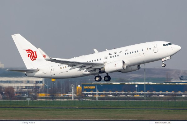Beijing Airlines, Boeing 737-700 B-3999 (SXF 3.4.2019)