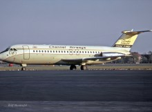 Channel Airways, BAC-1-11-408EF G-AWKJ (TXL 05/1971)