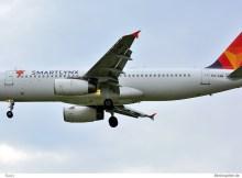 SmartLynx Estonia, Airbus A320-200 ES-SAM (SXF 27.4.2019)
