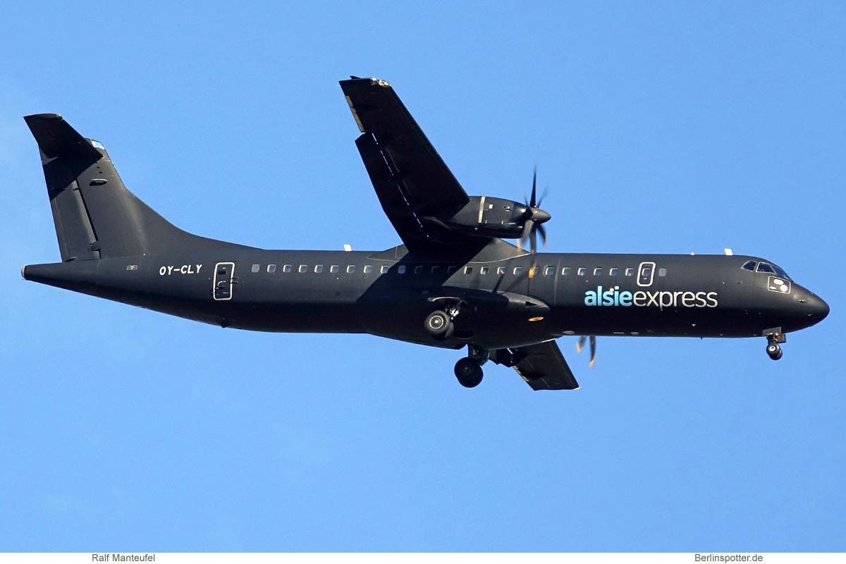 Alsie Express ATR72-500 OY-CLY und OY-CLZ