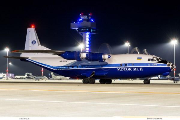 Motor Sich, Antonow An-12BK UR-11316 (SXF 3.4.2019)