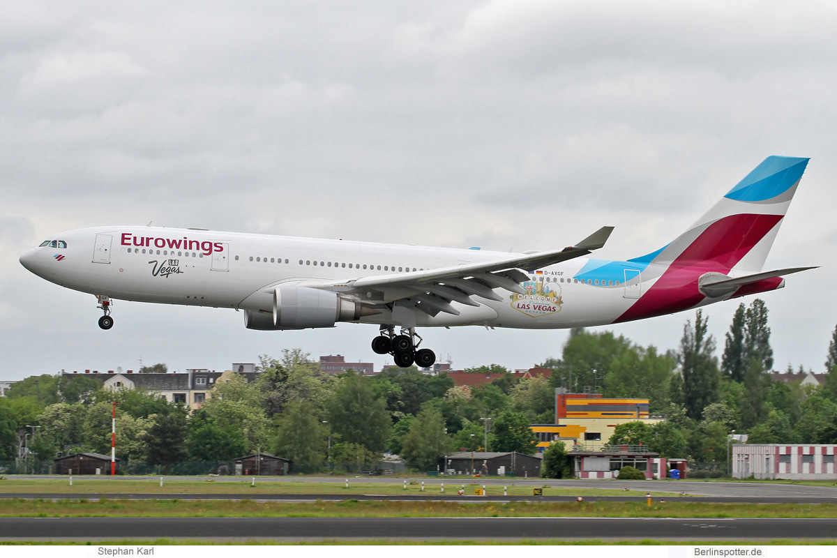 Eurowings Airbus A330-200 D-AXGF