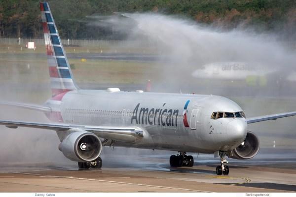 American Airlines, Boeing 767-300ER(WL) N384AA (TXL 8.6.2019)
