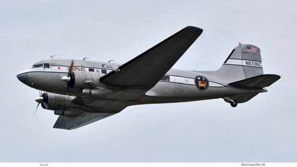 privat, Douglas DC-3A N8336C (SXF 16.6.2019)