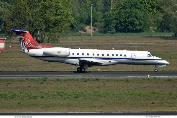 Belgian Air Force, Embraer 135 CE-02, 70 years 15th Wing (TXL 17.5.2019)