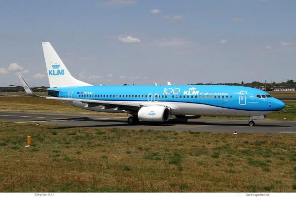 KLM Royal Dutch Airlines, Boeing 737-800(WL) PH-BXC (TXL 13.7.2019)
