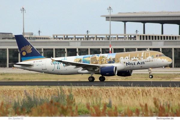 Nile Air, Airbus A320-200 SU-BQM (SXF 9.7.2019)