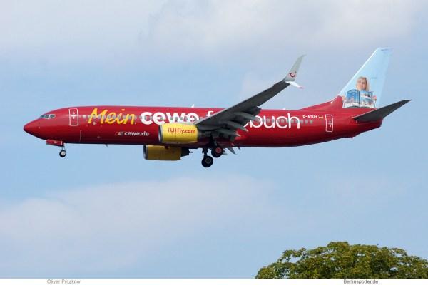 TUIfly, Boeing 737-800(WL) D-ATUH, Mein cewe Fotobuch (TXL 28.8.2019)