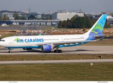 Air Caraibes, Airbus A330-200 F-OFDF (SXF 23.9.2019)
