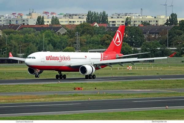 AtlasGlobal, Airbus A330-200 TC-AGD (TXL 3.10.2019)