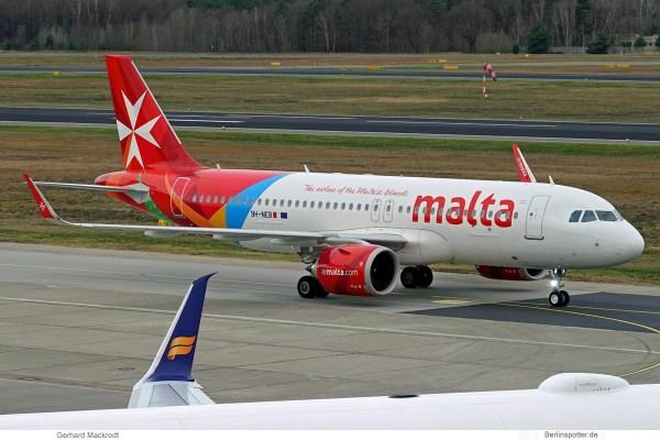 Air Malta, Airbus A320neo 9H-NEB (TXL 18.12.2019)